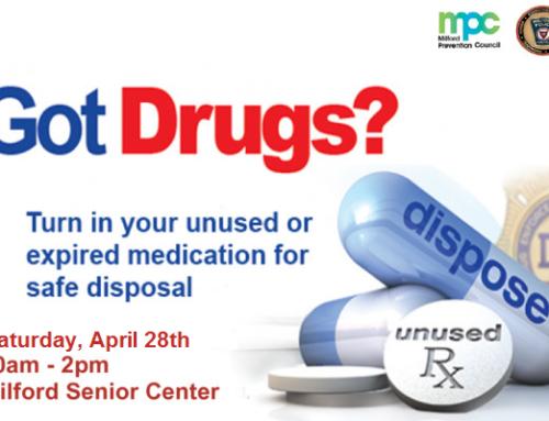 Drug Take Back Day – April 28, 2018